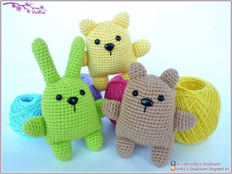 Вязание крючком игрушки самые простые схемы